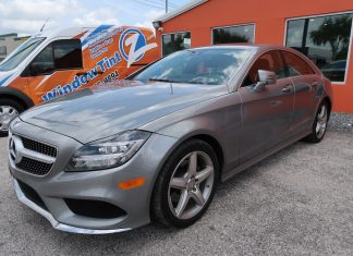best car window tint Mercedes Benz CLS