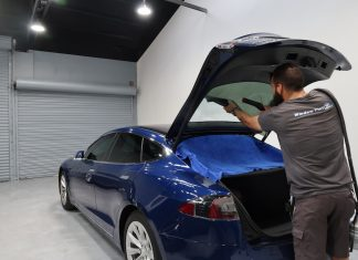 Best Ceramic Window Tint Tesla Model S 100D