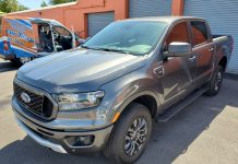 2020 Ford Ranger Window Tint